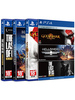 Triple Pack - God of War 3, Helldivers, The Last of Us - PS4