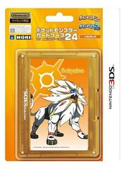 3DS HORI POKEMON SUN & MOON 24 CASE - SOLGALEO