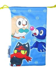 3DS NEW LL NINTENDO POCKET MONSTERS BLUE POUCH