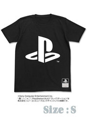 OFFICIAL PLAYSTATION LOGO T-SHIRT - S