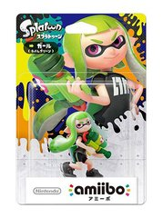 Amiibo Splatoon Inkling Girl (Green)