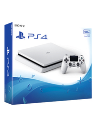 Playstation 4 Console - Slim (500GB, White)