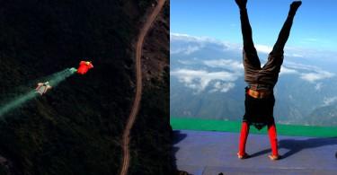 【極限飛行】自由翼世界決賽 選手在雲南飛越2700米