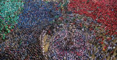 【極限比賽】西班牙疊人塔大賽 挑戰人體極限