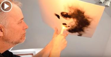 【舞動火燄】藝術家以火繪畫  煙燻出神秘感和魅力