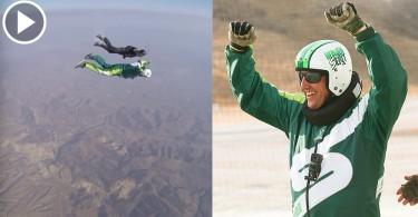 【空中飛人】零輔助2.5萬呎高空跳下  玩命高手挑戰人體極限