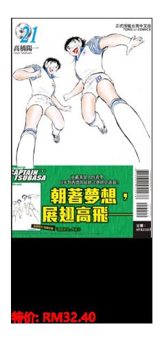 足球小将翼 爱藏版 (首刷附录版) 21完