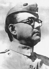 Subhas Chandra Bose (Jan 23, 1897 — presumed to have died Au