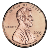 On currency 2005-Penny-Uncirculated-Obverse.png