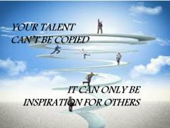 Be inspiration to others