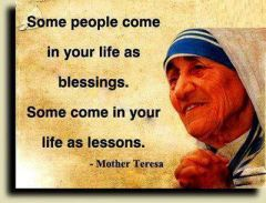 Some people come In your life as a blessings