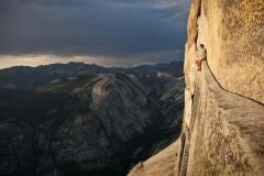 Alex Honnold At Yosemite.