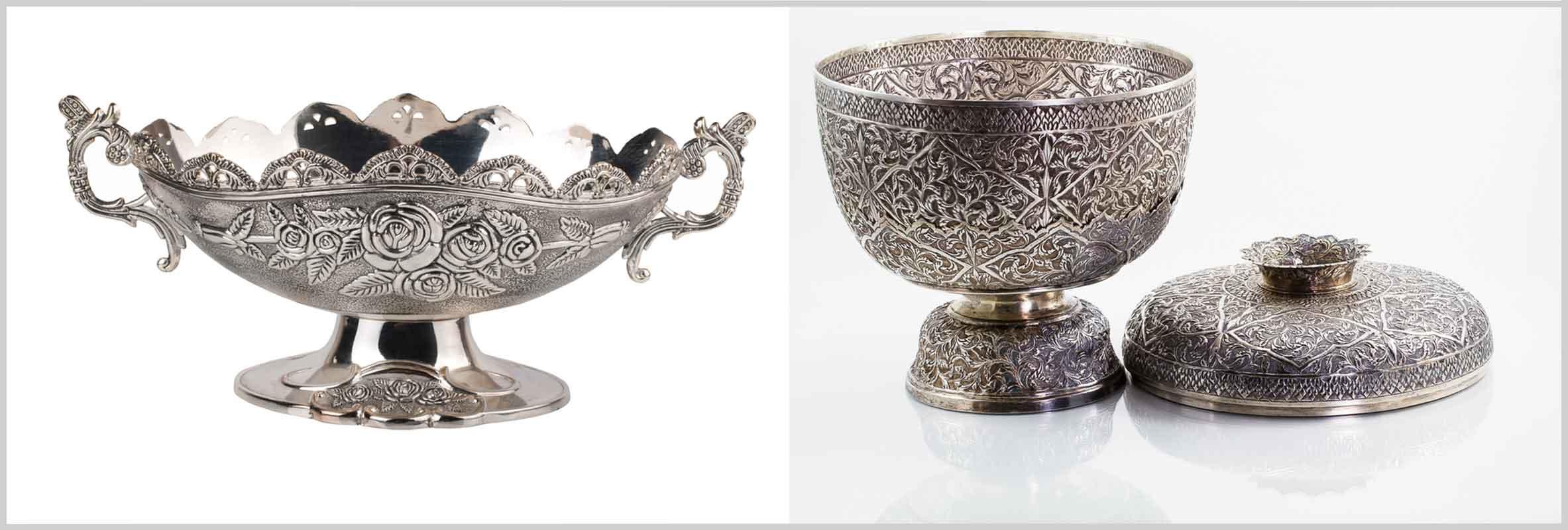 silver home decor accessories - home decor ideas