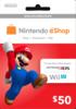 Nintendo eShop Prepaid Card (USD50)