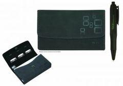 Nintendo DS Lite / DSi / 3DS Microsuede Wallet (Black)