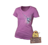 Dota 2 Puck Ladies T-shirt w Digital Unlock
