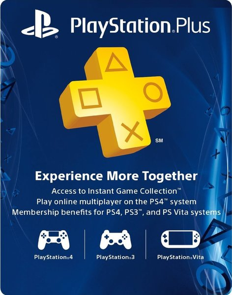 PlayStation Plus SG 12+3 Months Subscription