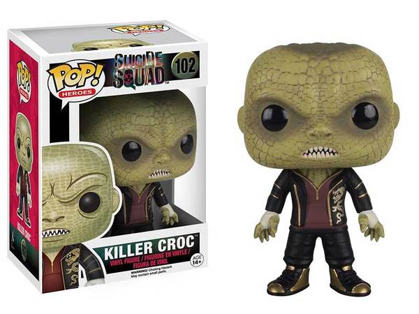 Funko POP Movies : Suicide Squad -#102 Killer Croc