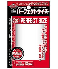 KMC Card Barrier Perfect Size Sleeves (64x89mm)