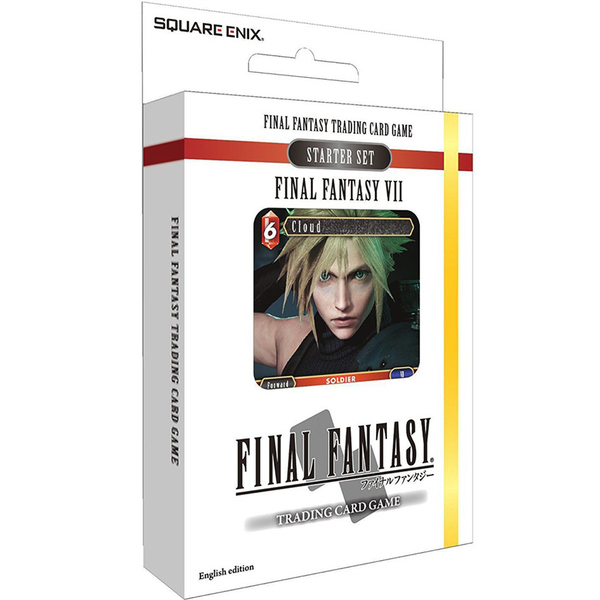 Final Fantasy TCG FFTCG FF VII Starter Set