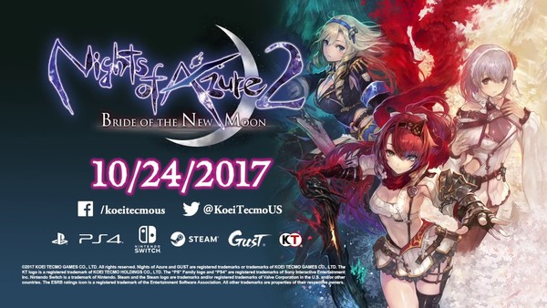 Nights of Azure 2 Bride of the New Moon