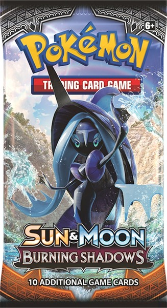 Pokemon SM3 Burning Shadows Booster Pack