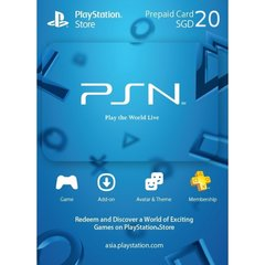 Playstation Network Card (SGD20)