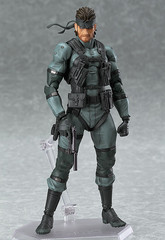 Figma #243 - Metal Gear Solid 2: Sons of Liberty - Solid Snake (re-run)