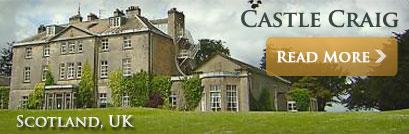 Castle Craig Hospital, Peebleshire, Scotland