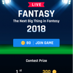With IPL 2018 in motion here is the best app for IPL Fantasy League 2018, IPL Fantasy Cricket, IPL Fantasy App, IPL Cricket Fantasy League, IPL T20 Fantasy and more.