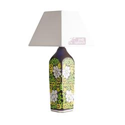 Floral –Doodle  Brown  Lamp