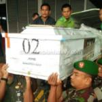 Jenazah Korban Kelompok Kriminal Bersenjata, Jepri Simaremare Tiba di Medan