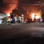 Akibat Serangan Sekelompok Massa Tidak DIkenal, Polsek Ciracas Rusak