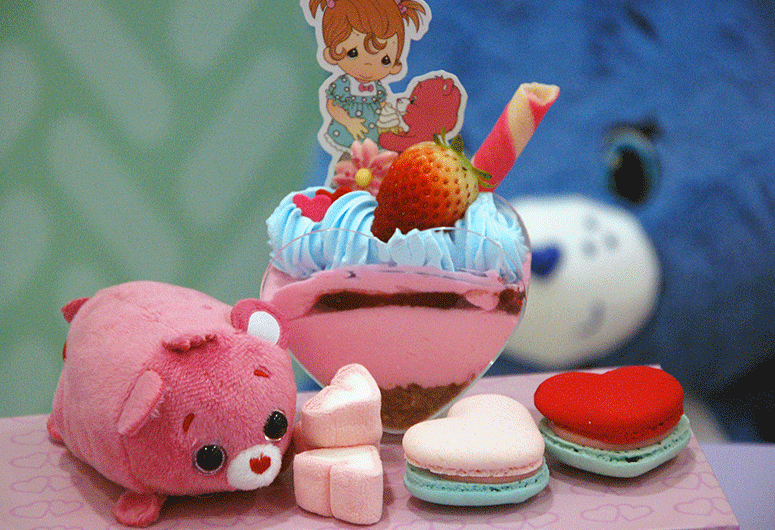 Precious Moments x Care Bears Cafe