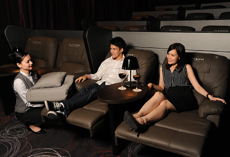Cathay Cineplexes Platinum Movie Suite