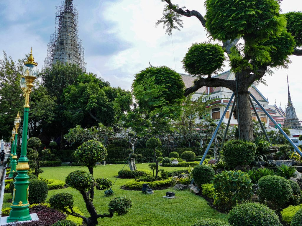 Gardens of Wat Arun