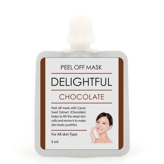 BrunBrun Paris Peel Off Mask Reviving Chocolate