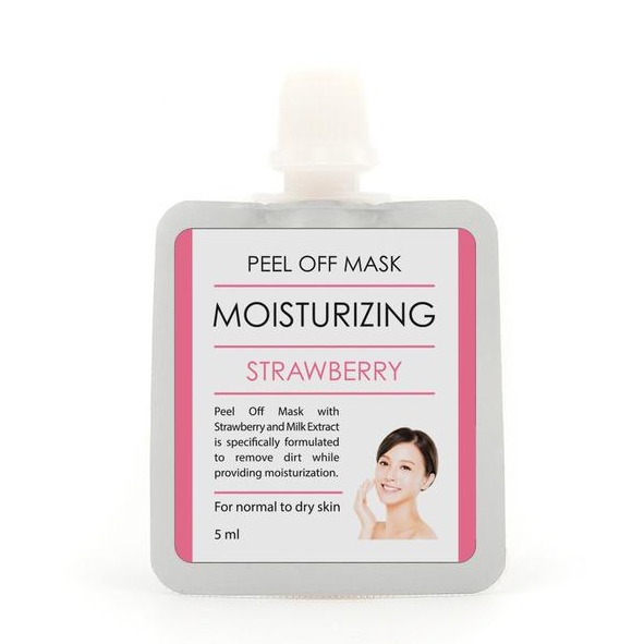 BrunBrun Paris Peel Off Mask Mosturizing Strawberry