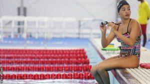 Yusra Mardini นักกีฬาว่ายน้ำจากทีม ROT
