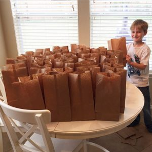 3-Boy Uses $120 He Saved To Help The Homeless. Made Them Lunches