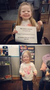 8-This 3-Year-Old Saw A Little Girl Without Hair And Asked Why She Was Bald.