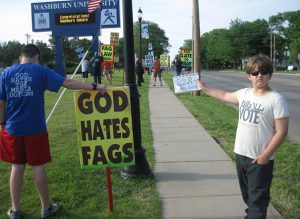 9-9-Year-Old Combats Hate At Westboro Baptist Church In Kansas