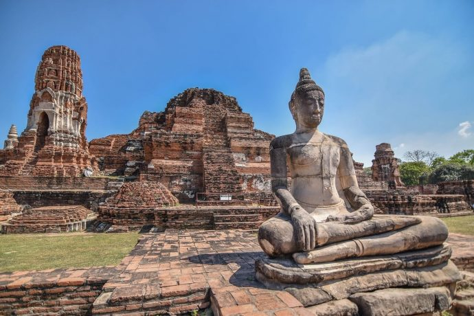yutthaya is one of the ancient capitals of old Siam and it's full of magnificent ancient ruins and temples