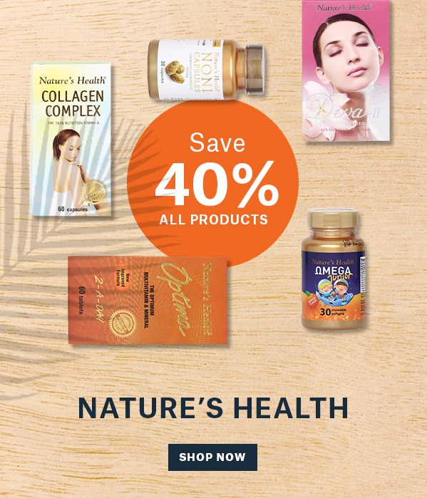 Nature's Health 40% Off All Items
