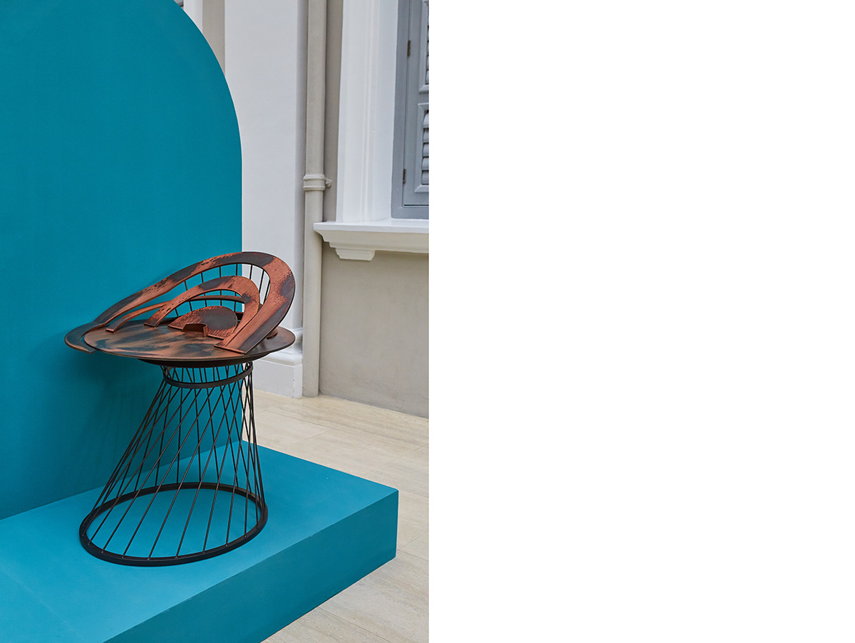 For Singapore Design Week 2019, Clara highlighted our modern-day reverence for WiFi by creating Console, which is looked at as an extravagant altar for the router.