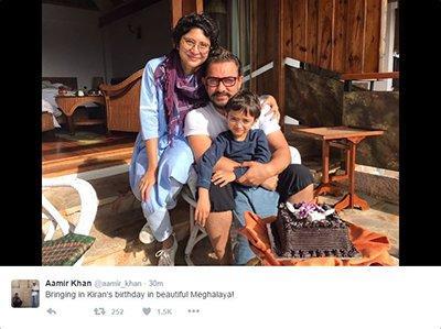Aamir Khan and son Azad Rao Khan bring in Kiran Rao birthday in Arunanchal.jpg