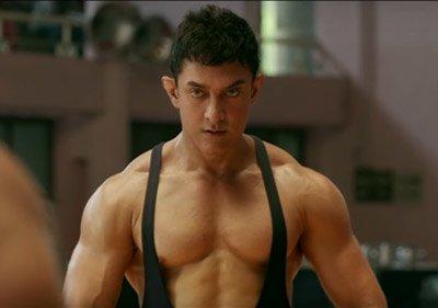 Aamir Khan as the young Mahavir Phogat in a still from Dangal.jpg
