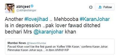 Abhijeet tweets about karan johar and fawad khan.jpg