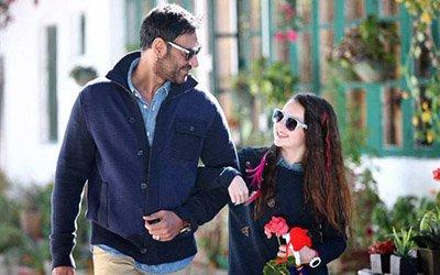 Ajay Devgn and Abigail Eames in Shivaay.jpg