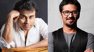 Amitabh Bhattacharya and Amit Trivedi  Music Composers Of Aamir Khan In Dangal.jpg